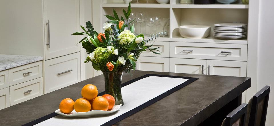 Countertop refinishing system, We resurface old countertops with this decorative concrete product!